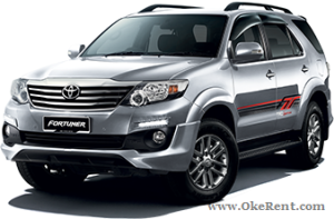 Toyota Fortuner Oke Rent
