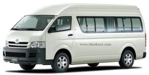 Sewa Mobil Commuter Hiace di Padang