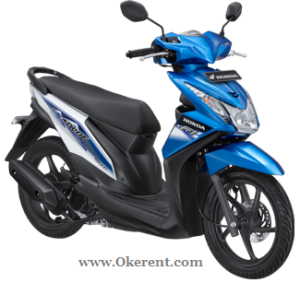 Sewa Motor Beat Okerent