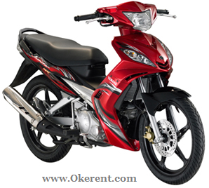 Sewa Motor Jupiter MX Okerent