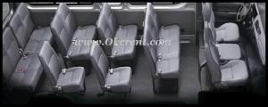 A. Interior Toyota Hiace